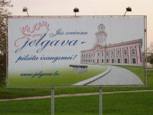 Jelgava - uzraksts